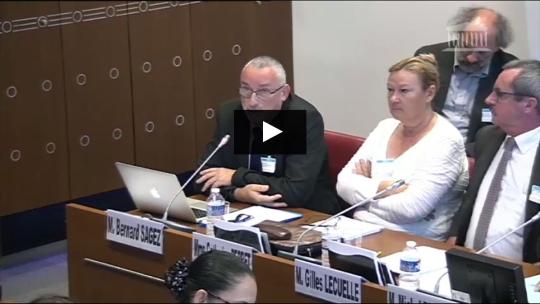 Audition de Bernard Sagez devant la Commission des affaires sociales