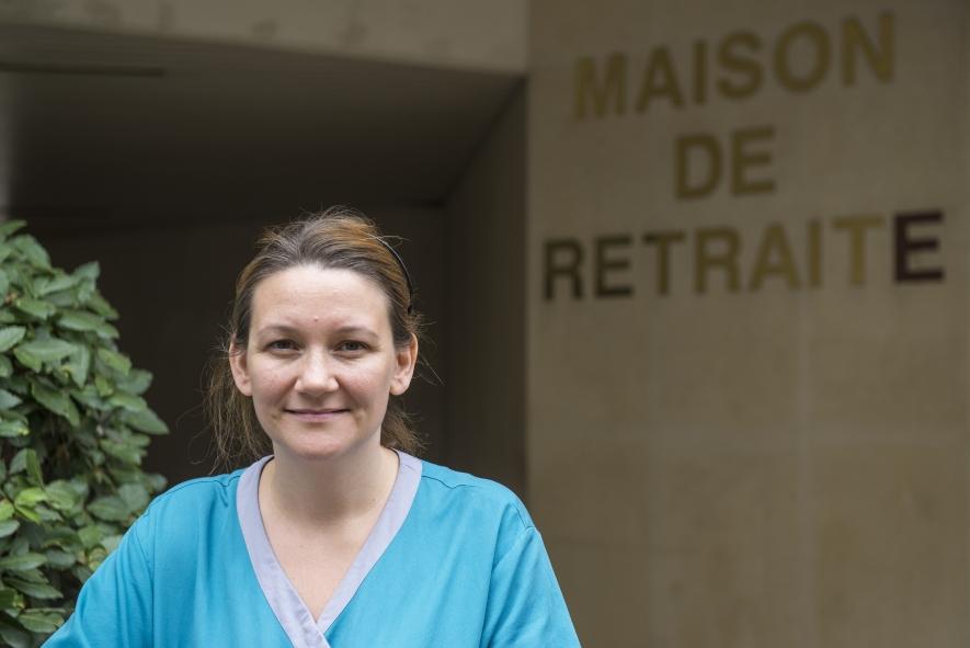 Aurélie Lefèvre, militante CFTC / crédit photo : Bernard Gouédard
