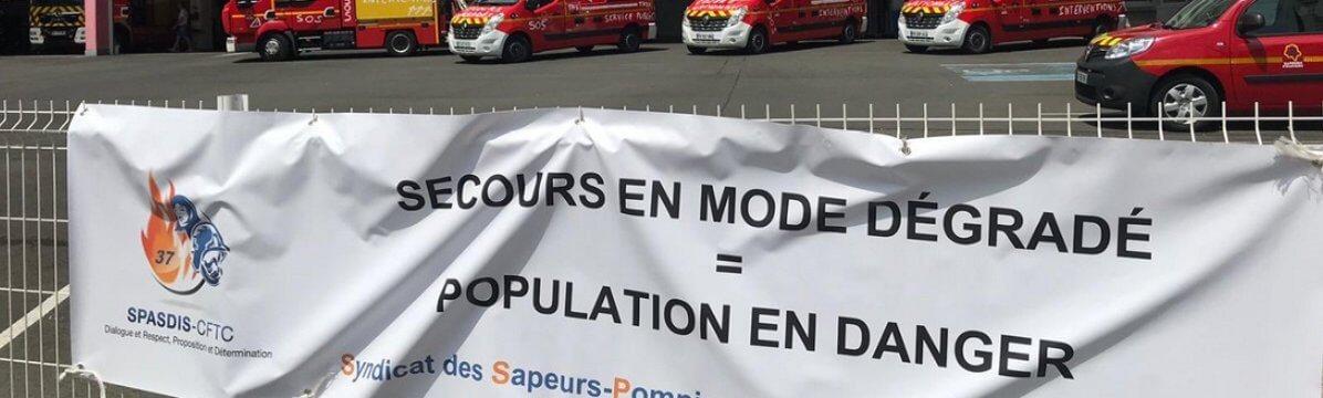 Grève des pompiers : « Le rêve de gosse s'efface »